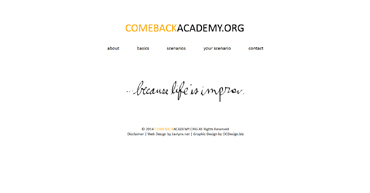 Comeback Academy Respons to Bullying
